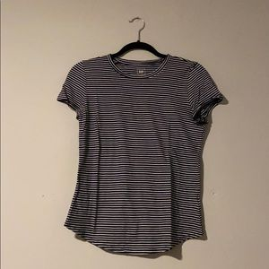 Gap Navy and White Striped t-shirt